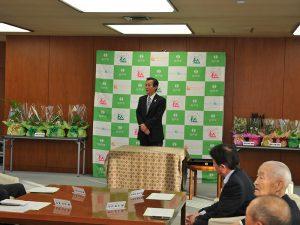 第24回松戸みどりと花のコンクール審査結果及び表彰式