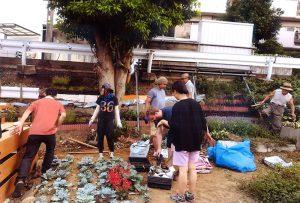 グリーン賞:岩瀬・胡録台 みんなの庭