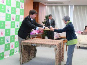 第27回松戸みどりと花のコンクール表彰式