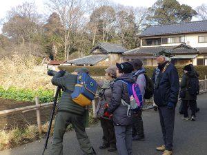 野鳥観察会昨年度の様子